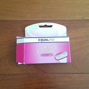 🔴NIB NWT Equaline Cartridge blades four-pack.